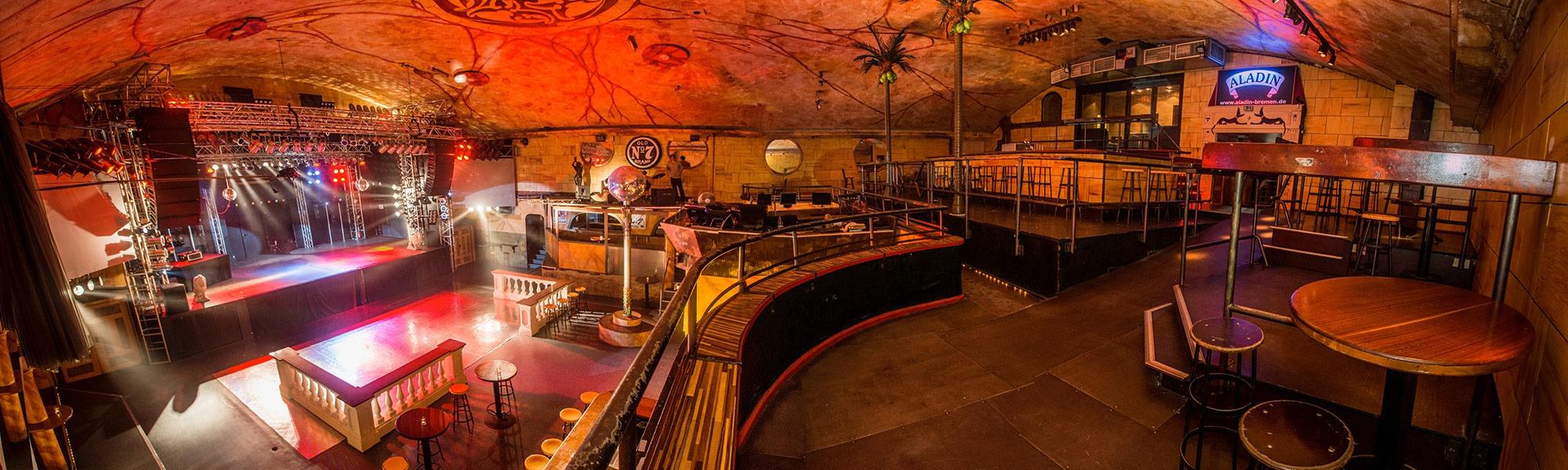 Aladin Music-Hall - Partys, Konzerte & Feiern in Bremen