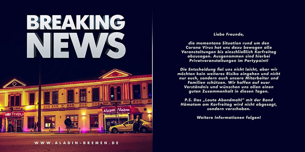 Aladin Bremen - Breaking News